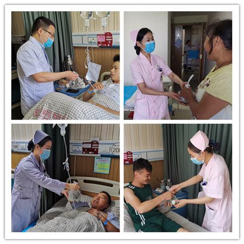 浓浓端午情:兆岐肛肠端午佳节慰问住院患者